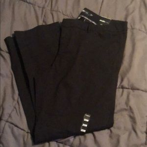 Plus size black dress pant